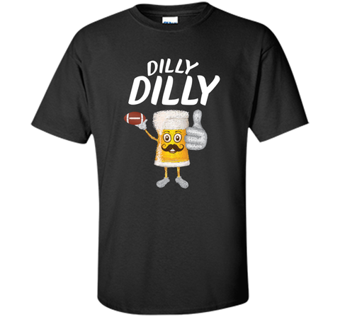 Bud Light Dilly Dilly Funny Football Beer T Shirt Black / Small Custom Ultra Cotton Tshirt - PresentTees