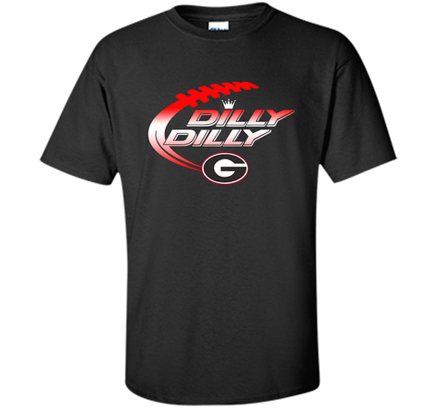 Georgia Bulldogs Dilly Dilly T-Shirt Dilly Dilly Georgia Bulldog for Football Fans Black / Small Custom Ultra Cotton Tshirt - PresentTees