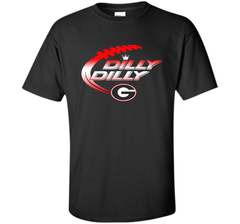 Georgia Bulldogs Dilly Dilly T-Shirt Dilly Dilly Georgia Bulldog for Football Fans Custom Ultra Cotton Tshirt - PresentTees