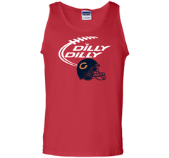 DILLY DILLY Chicago Bears NFL Team Logo Tank Top - PresentTees