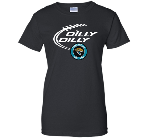 DILLY DILLY Jacksonville Jaguars shirt Black / Small Ladies Custom - PresentTees