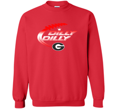 Georgia Bulldogs Dilly Dilly T-Shirt Dilly Dilly Georgia Bulldog for Football Fans Crewneck Pullover Sweatshirt 8 oz - PresentTees