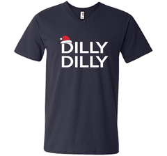 Dilly Dilly Christmas Beer T Shirt for Men and Women T Shirt Men Printed V-Neck Tee - PresentTees