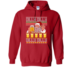 Dilly Dilly Christmas Sweater ugly T Shirt Pullover Hoodie 8 oz - PresentTees
