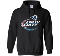 Los Angeles Rams Dilly Dilly Bud Light T-Shirt LAR NFL Football Team Gift for Fans Pullover Hoodie 8 oz - PresentTees