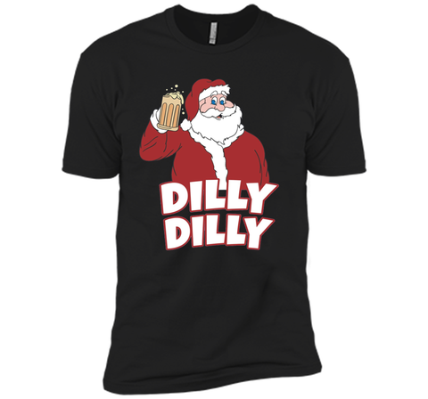 Christmas Santa Claus Dilly Dilly Shirt Gift 4 Beer T Shirt Black / Small Next Level Premium Short Sleeve Tee - PresentTees