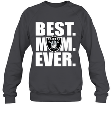 Best Oakland Raiders Mom Ever NFL Team Mother's Day Gift Crewneck Sweatshirt Crewneck Sweatshirt - PresentTees