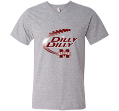 Dilly Dilly Mississippi State T-Shirt Men Printed V-Neck Tee - PresentTees