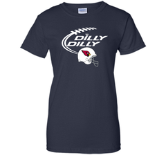 DILLY DILLY Arizona Cardinals NFL Team Logo Ladies Custom - PresentTees