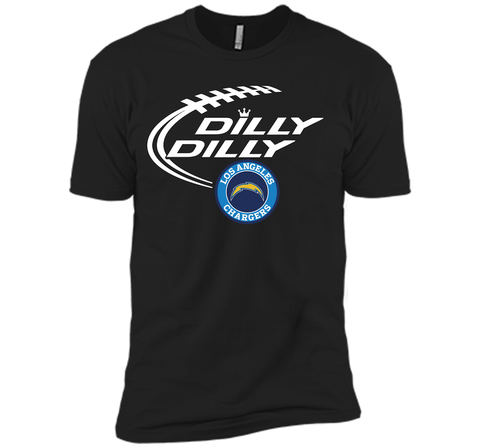 DILLY DILLY  Los Angeles Chargers shirt Black / Small Next Level Premium Short Sleeve Tee - PresentTees