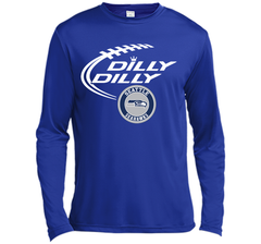DILLY DILLY Seatle Seahawk shirt LS Moisture Absorbing Shirt - PresentTees