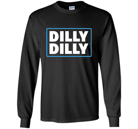 Bud Light Official Dilly Dilly T-Shirt Black / Small LS Ultra Cotton TShirt - PresentTees