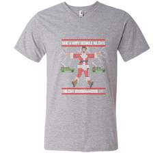Griswold Funny Christmas T Shirt Men Printed V-Neck Tee - PresentTees