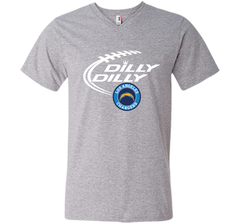 DILLY DILLY  Los Angeles Chargers shirt Men Printed V-Neck Tee - PresentTees