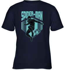 Marvel Spider Man Far From Home Stealth Suit Silhouette Youth T-Shirt Youth T-Shirt - PresentTees
