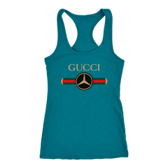 Gucci Mercedes T-shirt Women Tank Top T-shirt - PresentTees