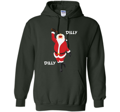 Dilly Dilly Christmas Santa Get Lit T Shirt Pullover Hoodie 8 oz - PresentTees