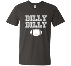 Funny Bud Light Dilly Dilly Football Chant T Shirt Men Printed V-Neck Tee - PresentTees