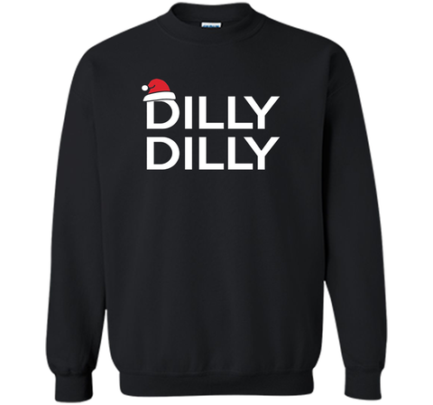 Dilly Dilly Christmas Beer T Shirt for Men and Women T Shirt Black / Small Crewneck Pullover Sweatshirt 8 oz - PresentTees