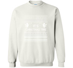 It's Christmas Time Merry Christmas T-Shirt Crewneck Pullover Sweatshirt 8 oz - PresentTees