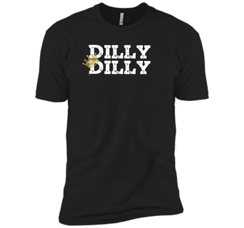 Dilly Dilly Crown Football T Shirt Black / Small Next Level Premium Short Sleeve Tee - PresentTees