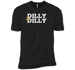 Dilly Dilly Crown Football T Shirt Next Level Premium Short Sleeve Tee - PresentTees
