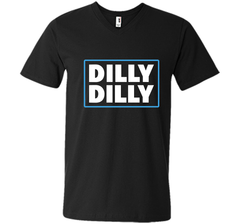 Bud Light Official Dilly Dilly T-Shirt Men Printed V-Neck Tee - PresentTees