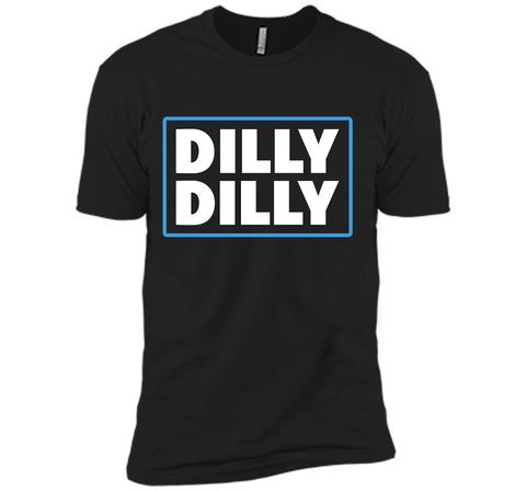 Bud Light Official Dilly Dilly T-Shirt Black / Small Next Level Premium Short Sleeve Tee - PresentTees