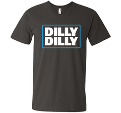 Bud Light Official Dilly Dilly Men Printed V-Neck Tee - PresentTees
