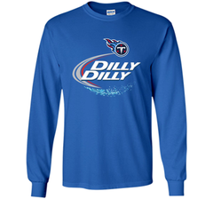 Tennessee Titans Dilly Dilly T-Shirt NFL Football Gift for Fans LS Ultra Cotton TShirt - PresentTees