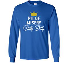 Pit of Misery Dilly T shirt LS Ultra Cotton TShirt - PresentTees