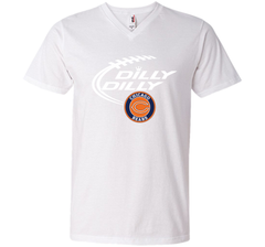DILLY DILLY Chicago Bears shirt Men Printed V-Neck Tee - PresentTees