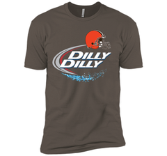 Cleveland Browns Dilly Dilly Bud Light T-Shirt CLE NFL Football Team Gift for Fans Next Level Premium Short Sleeve Tee - PresentTees
