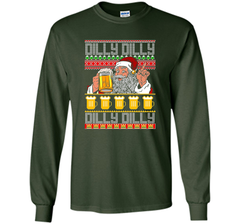 Dilly Dilly Christmas Sweater ugly T Shirt LS Ultra Cotton TShirt - PresentTees