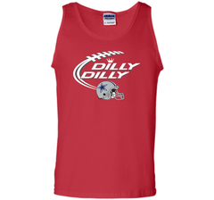 Dilly Dilly Dallas Cowboy Logo American Football Team Bud Light Christmas T-Shirt Tank Top - PresentTees