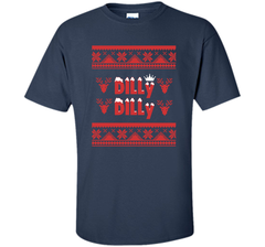 Dilly Dilly Funny Beer Christmas Ugly Sweater T Shirt Custom Ultra Cotton Tshirt - PresentTees