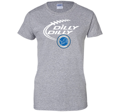 DILLY DILLY Destroit Lions shirt Ladies Custom - PresentTees