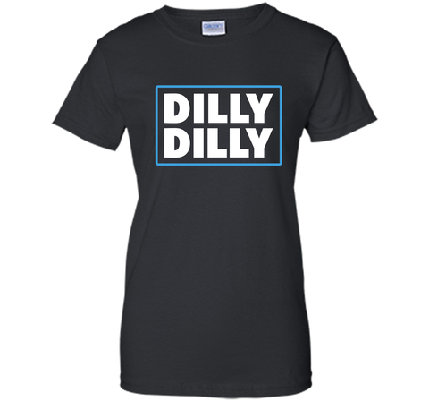 Bud Light Official Dilly Dilly T-Shirt Black / Small Ladies Custom - PresentTees
