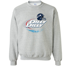 Seattle Seahawks Dilly Dilly Bud Light T Shirt SEA NFL Football Crewneck Pullover Sweatshirt 8 oz - PresentTees