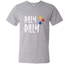Dilly Dilly Pit of Misery Beer Roethlisberger Beer Football Pittsburgh Steelers Sweater Men Printed V-Neck Tee - PresentTees