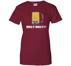 Dilly Dilly Beer Mug Alcohol Drink Stein Medieval T Shirt Ladies Custom - PresentTees