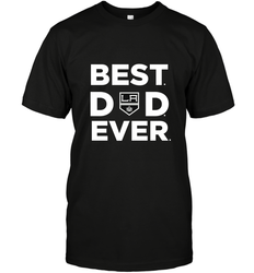 Best Los Angeles Kings Dad Ever Hockey NHL Fathers Day GIft For Daddy (1) Men's T-Shirt