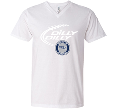 DILLY DILLY Seatle Seahawk shirt Men Printed V-Neck Tee - PresentTees