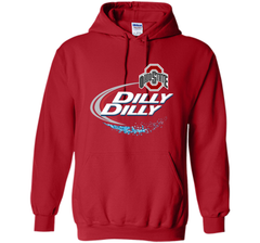 Dilly Dilly Ohio State Buckeyes T Shirt Ohio State Dilly Dilly Bud Light Shirts Pullover Hoodie 8 oz - PresentTees