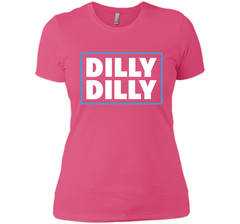 Bud Light Official Dilly Dilly T-Shirt Next Level Ladies Boyfriend Tee - PresentTees