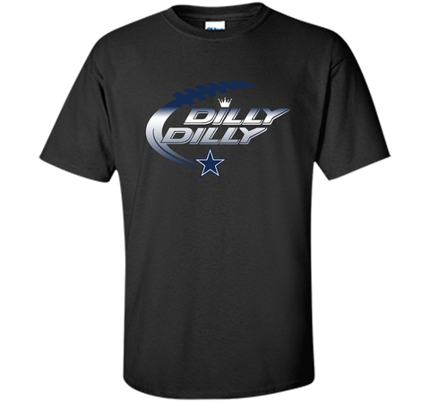 Dilly Dilly Dallas Cowboys T-Shirt Dallas Cowboys Dilly Dilly NFL Football Gift for Fans Black / Small Custom Ultra Cotton Tshirt - PresentTees
