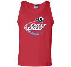 Los Angeles Rams Dilly Dilly Bud Light T-Shirt LAR NFL Football Team Gift for Fans Tank Top - PresentTees