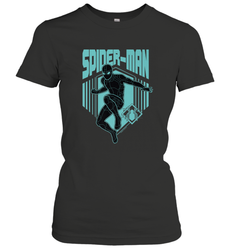 Marvel Spider Man Far From Home Stealth Suit Silhouette Women's T-Shirt