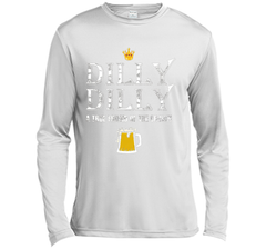 Dilly Dilly A True Friend Of The Crown Beer Lovers T Shirt LS Moisture Absorbing Shirt - PresentTees