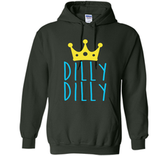 Bud Light Dilly Dilly Crown T-Shirt Pullover Hoodie 8 oz - PresentTees
